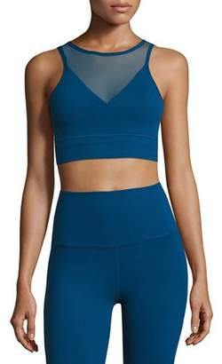 Beyond Yoga Ombre Mesh Performance Bralette, Blue