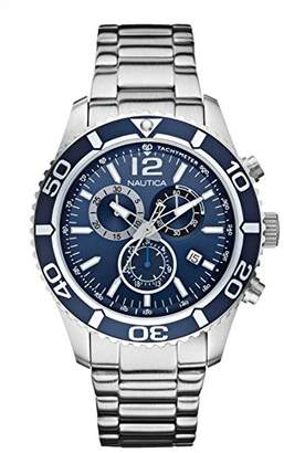 Nautica Gents Watch XL Analogue Quartz Stainless Steel A16665G