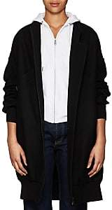 Yohji Yamamoto Regulation Women's Wool Melton Bomber Coat - Black