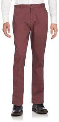 Saks Fifth Avenue Slim-Fit Cotton-Blend Chinos