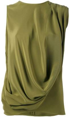 Gianluca Capannolo draped tank top