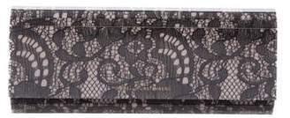 Diane von Furstenberg Lace Twilight Clutch