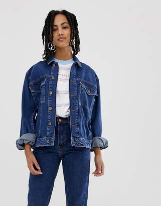 Wrangler 80s t-shirt with small logo in stripe