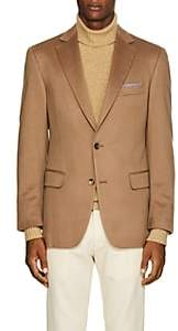 Pal Zileri MEN'S CASHMERE TWO-BUTTON SPORTCOAT-CAMEL SIZE 40 R