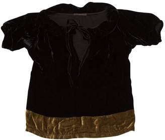 Louis Vuitton Black Velvet Tops
