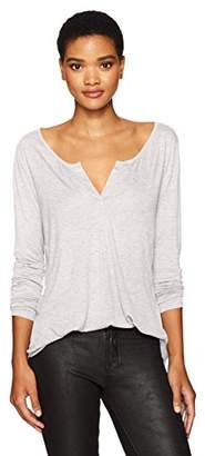 NYDJ Women's Long Sleeve Knit Henley Shirt