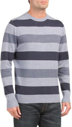 Long Sleeve Marl Stripe Crew Sweater