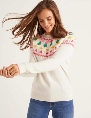 Boden Festive Fair Isle Sweater