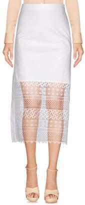 N°21 N° 21 3/4 length skirt
