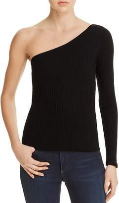 Cotton Candy LA One Shoulder Sweater $58 thestylecure.com