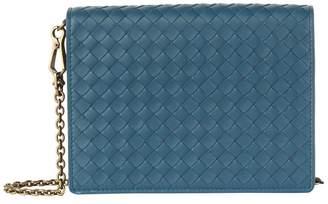 Bottega Veneta Leather Intrecciato Wallet Bag
