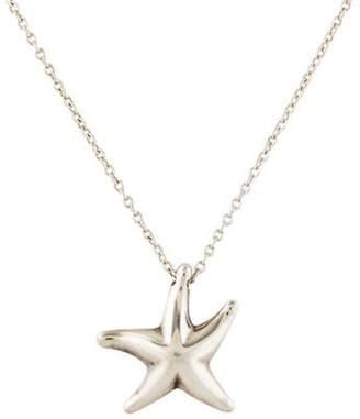 Tiffany & Co. Elsa Peretti Starfish Pendant Necklace silver Elsa Peretti Starfish Pendant Necklace
