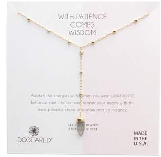 Dogeared (ドギャード) - Dogeared Patience Wisdom Labradorite Necklace