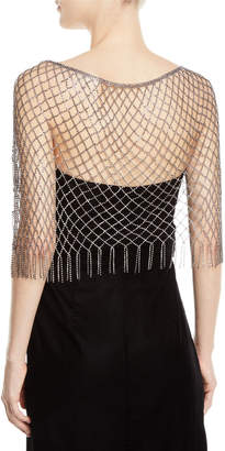 Bergdorf Goodman Exclusively Crystal Capelet Necklace