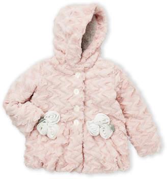 Co Mack & Toddler Girls) Textured Fabric Flower Coat