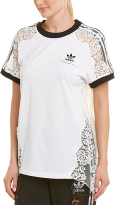 Stella McCartney Adidas 3-Stripe Lace T-Shirt