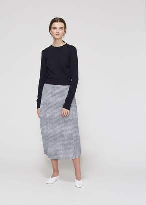 Jil Sander Long Sleeve Cropped Sweater