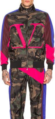 Valentino Jacket in Army Camo | FWRD