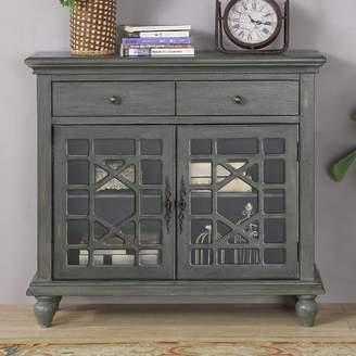 Lark Manor Mauldin 2 Drawer 2 Door Cabinet