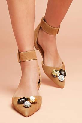 Bill Blass Sylvie Embellished Flats