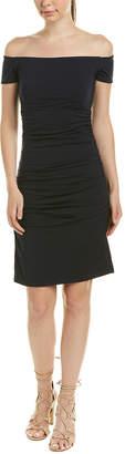 Susana Monaco Off-The-Shoulder Sheath Dress