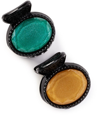 Natasha Accessories Round Jeweled Jaw Clip - Pack of 2 $6.97 thestylecure.com