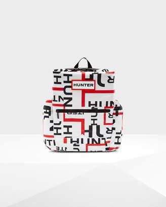 Hunter Exploded Logo Top Clip Backpack