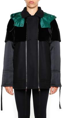 N°21 N.21 Hooded Jacket