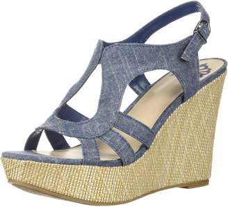 Fergalicious Women's Vista Wedge Sandal