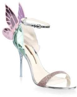 Sophia Webster Chiara Wing Leather High Heel Sandals