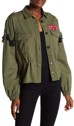 Walter W118 by Baker Lex Embroidered Army Jacket