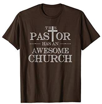 Church's Funny Pastor T-Shirt Awesome Perfect Gift For Pastors