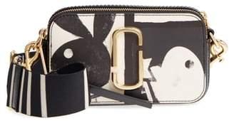 Marc Jacobs Snapshot Playboy(R) Leather Crossbody Bag