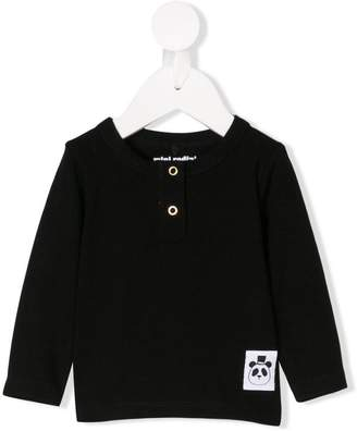 Mini Rodini snap-button long sleeve top