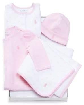 Ralph Lauren Baby's Four-Piece Gift Set