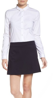 Women's French Connection Bernice Shirtdress $128 thestylecure.com