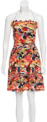 Fendi Silk Halter Dress