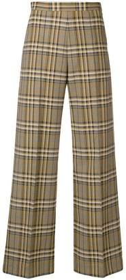 Baum und Pferdgarten check print trousers