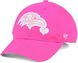'47 Girls' Baltimore Ravens Sugar Sweet Mvp Cap