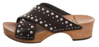 Saint Laurent Studded Platform Sandals