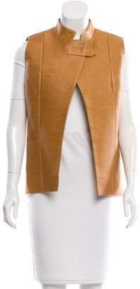 Sophie Theallet Raffia Asymmetrical Vest w/ Tags