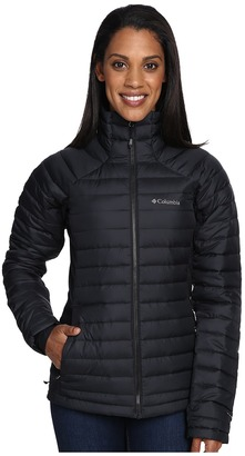 Columbia - Gold 750 TurboDown Hybrid Jacket Women's Coat $180 thestylecure.com