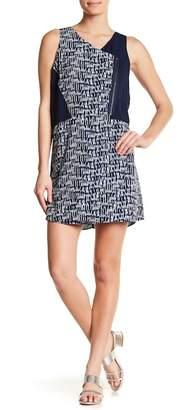 Olive + Oak Olive & Oak Colorblock Cross Sleeveless Dress