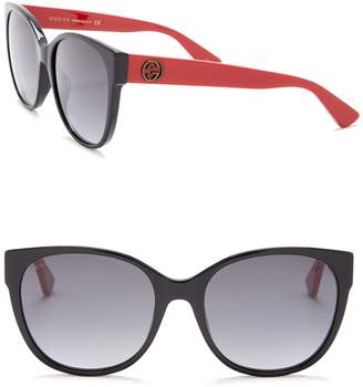Gucci Oversized 56mm Sunglasses