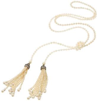 Ben-Amun Ben Amun Belle Epoque Pearl Lariat Necklace