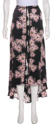 Elizabeth and James Silk-Blend Maxi Skirt w/ Tags
