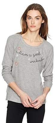 Chaser Women's Love Knit Long Sleeve Raglan Pullover