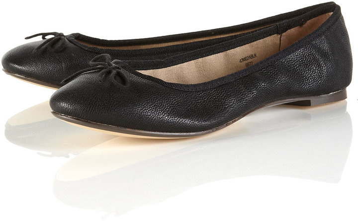 MALACHY3 Black Ballet Pumps