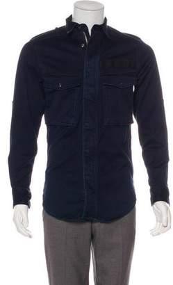 G Star Woven Shirt Jacket