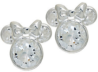 As Is Disney 1.8 cttw Diamonique Mickey or Minnie Studs $13.50 thestylecure.com
